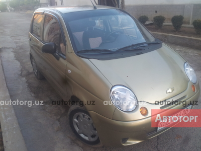 Автомобиль Chevrolet Matiz 2009 года за 3800 $ в Ташкенте