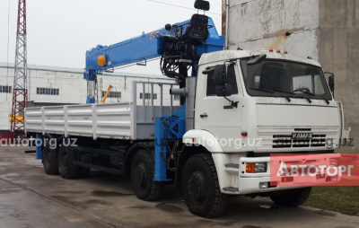 Спецтехника манипулятор КамАЗ 65201 2015 года за 1 500 000 $ в городе Ташкент