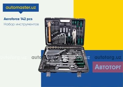 Спецтехника другой Т Набор ключей Aeroforce 142+2 пр. для автомастерских и СТО 2020 года за 1 575 000 сум в городе Ташкент