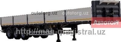 Спецтехника MAN Полуприцеп контейнеровоз бортовой UAT-SCTF-U334.01 в Ташкент
