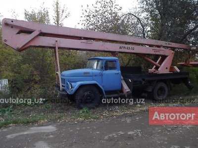 Спецтехника автовышка ЗиЛ 130 АГП-22 1993 года за 4 260 $ в городе Ташкент