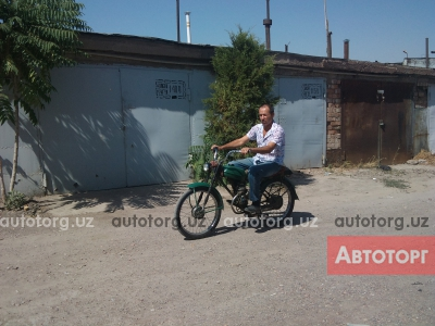 мотоцикл Kawasaki velomotor ninda 1987 года в Алмалык