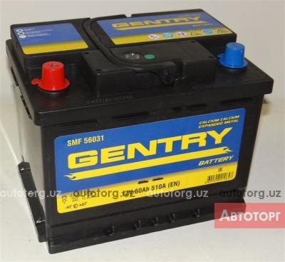 "Аккумулятор 12 V 60Ah ""GENTRY"". Цена 500 000 сум/шт в городе Ташкент"