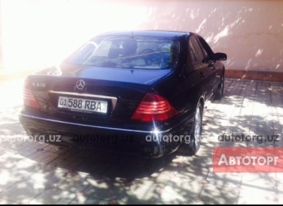 Автомобиль Mercedes-Benz S 320 2000 года за 15000 $ в Ташкенте