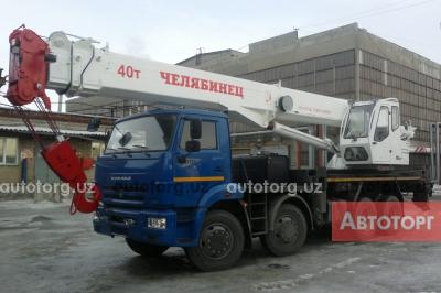Спецтехника автокран ЧМЗ КС-65711 стрела 34м, грузоподъемность 40 тонны 2017 года за 175 567 $ в городе Ташкент