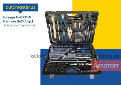 Спецтехника другой Т Forsage F-41421-5 Premium Набор инструментов (142+6) для автосервиса 2020 года за 2 450 000 сум в городе Ташкент
