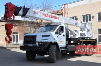 Спецтехника автокран Урал КС-45721 NEXT 2016 года за 87 700 $ в городе Ташкент