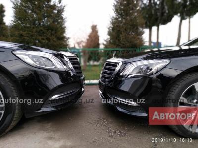 Автомобиль Mercedes-Benz S 550 2019 года за 145000 $ в Алимкенте