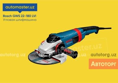 Спецтехника другой Т Болгарка (УШМ) Bosch GWS 22-180 LVI Professional (инструменты uskuna) 2020 года за 3 002 000 сум в городе Ташкент