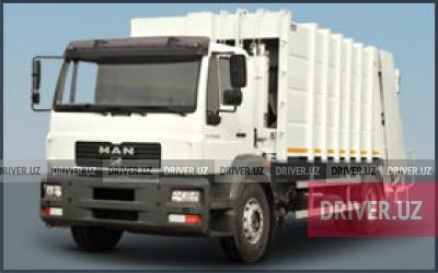 Продажа мусоровоз MAN 2013 года в городе Коканд