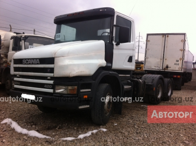 Продажа тягач Scania 2004 года за 28 991 $ в городе Алтынкуль, Купить тягач Scania в Алтынкуль.