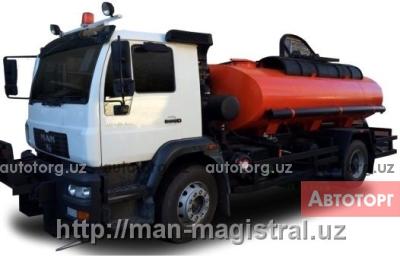 Спецтехника MAN Поливомоечная автомашина MAN CLA 18.280 4x2 BB в Ташкент