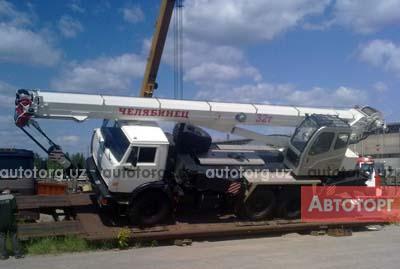Спецтехника автокран ЧМЗ KC-55733 2016 года за 112 000 $ в городе Бухара