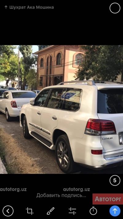 Автомобиль Lexus LX 570 2014 года за 120000 $ в Ташкенте