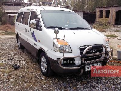 Спецтехника автобус универсальный Hyundai Starex 2007 года за 20 000 $ в городе Ленинск