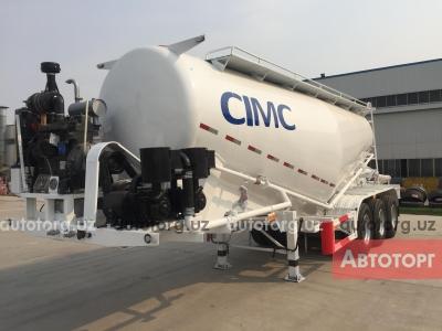 Спецтехника прицепы, полуприцепы Cimc Полуприцеп-цементовоз CIMC ZJV9401GFDY 2018 года за 325 000 000 сум в городе Ташкент