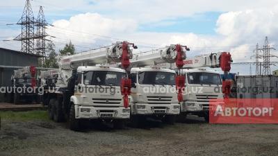 Спецтехника автокран ЧМЗ КС-55732 2017 года за 118 567 $ в городе Ташкент