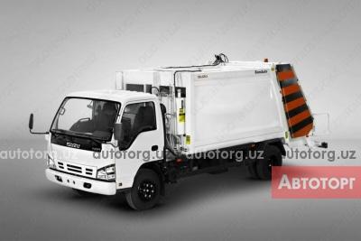 Спецтехника мусоровоз Isuzu Исузу NQR 71PL дизель мусоровоз с манипулятором,Хордокс 2020 года за 541 000 000 сум в городе Ташкент