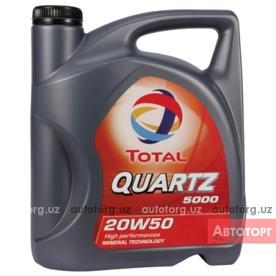 Total Quartz 5000 20W50... в городе Ташкент