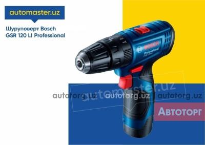 Спецтехника другой Т Шуруповёрт Bosch аккумулят. GSR 120 LI Professional (uskuna) 2020 года за 1 230 000 сум в городе Ташкент