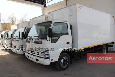 Спецтехника Isuzu Автофургон изотермический кузов Исузу NQR дизель в наличии в Ташкент