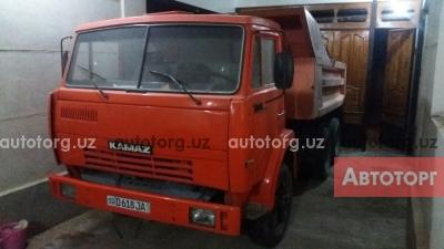 Продажа самосвал КамАЗ 1986 года в городе Ангрен, Купить самосвал КамАЗ в Ангрен.