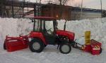 Спецтехника снегоуборщик МТЗ Снегоочиститель фрезернороторный ДЭМ-124 2018 года за 1 $ в городе Андижан