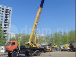 Спецтехника автокран Ивановец Кс54711 2009 года за 27 300 $ в городе Челябинск