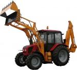 МТЗ Экскаватор-погрузчик с челюстным универсальным ковшом на базе трактора Беларус-92П2017 года за 28 080 $ на Автоторге