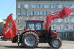 Спецтехника экскаватор МТЗ Экскаватор-погрузчик/бульдозер ЭО-2626-01 со смещаемой осью копания на базе трактора Беларус-82.1/92П 2018 года за 1 $ в городе Ташкент