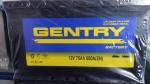 """Аккумулятор 12 V 75 Ah """"GENTRY"""". Цена 620 000 сум/шт."""