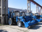 МТЗ Экскаватор-погрузчик/бульдозер на базе трактора Беларус-82.12019 года за 1 $ на Автоторге