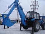 МТЗ Экскаватор-погрузчик/бульдозер ЭО-2626-01 со смещаемой осью копания на базе трактора Беларус-82.1/92П2018 года за 1 $ на Автоторге