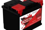 Аккумулятор 6СТ-60 BOZON (Россия)  на Автоторге
