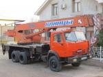 Спецтехника автокран КамАЗ 53215 2007 года за 65 000 $ в городе Бухара