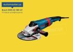 Т Болгарка (УШМ) Bosch GWS 22-180 LVI Professional (инструменты uskuna)2020 года за 290 $ на Автоторге