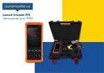 Авосканер дигностический Launch CR 972 (Автосервисное оборудование)  на Автоторге