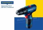 Т Шуруповёрт Bosch аккумулят. GSR 120 LI Professional (uskuna)2020 года за 119 $ на Автоторге